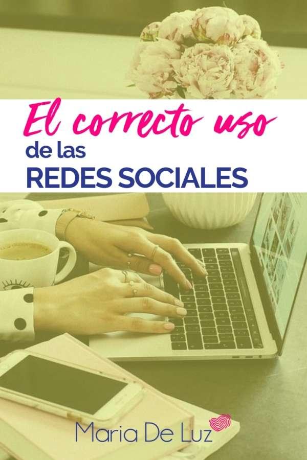 El correcto uso de las Redes Sociales